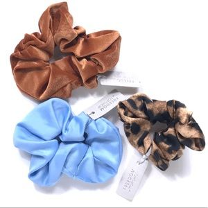 Lot of 3 Freedom by Topshop Scrunchie for Ponytail